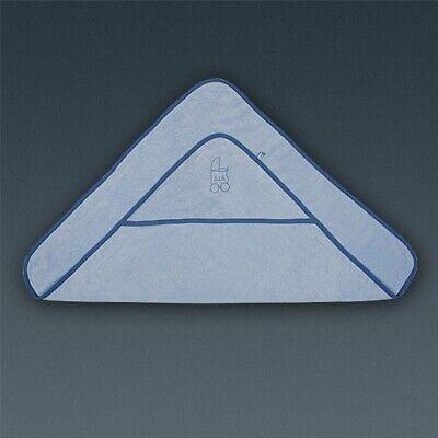 Baby Handtuch Badetuch Kapuzentuch Duschtuch blau NP 16 € neu mit Etikett