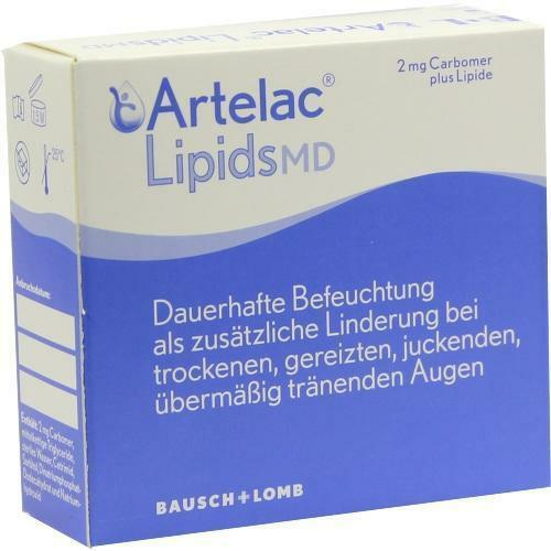 ARTELAC Lipids MD Augengel 3X10 g