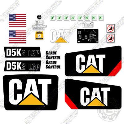 Caterpillar D5k2 Lgp Decal Kit Dozer Safety Decals Stickers Crawler Tractor D5k