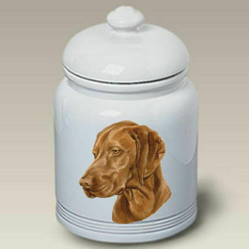 Vizsla Ceramic Treat Jar LP 45052