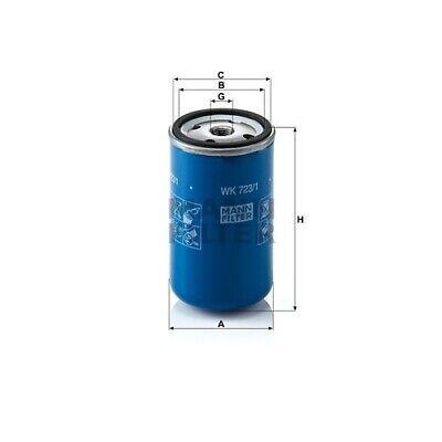 Kraftstofffilter MANN-FILTER (WK 723/1)