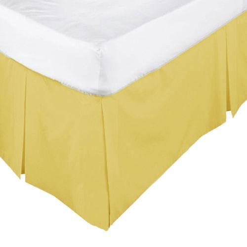 Yellow King Bedskirt Bed Skirts Ebay