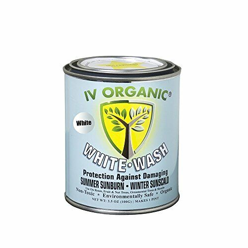 IV Organic White Wash, 1 Pint (WHITE)