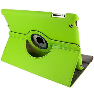 GREEN 360 ROTATING PU LEATHER CASE COVER WITH STAND FOR IPAD AIR Regina Regina Area image 7