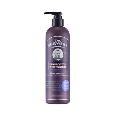 [THE FACE SHOP] Dr.Schwarz Shampoo For Thinning Hair - 380ml