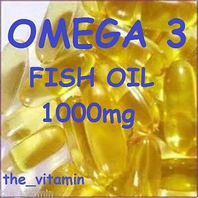 1000mg 365 capsule di olio di pesce omega 3