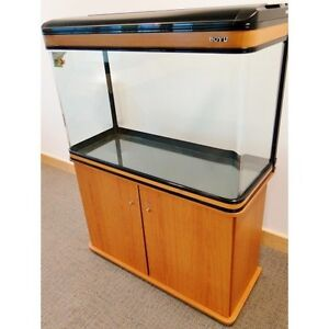 250L Cabinet Aquarium Fish Tank Tropical / Marine 107cm 3.4ft with T8 Lighting
