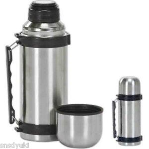 Vacuum Stainless Steel Insulated Travel Bottle Thermos Hot&Cold Coffee Soup