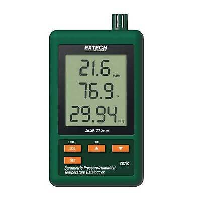 Extech Sd700 Barometric Pressurehumiditytemperature Datalogger With Sd Card