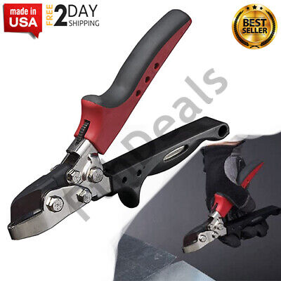 Sheet Metal Hand Notcher V Cutter Roofing Tin Duct Work Gutter Down Spout Tool