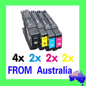 10x LC 40 LC 73 LC 77 XL Ink Cartridges For Brother MFC J6510DW J6910DW Printer