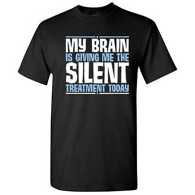 Brain Silent Sarcastic Adult Cool Brain Graphic Gift Idea Humor Funny - Brain Gifts