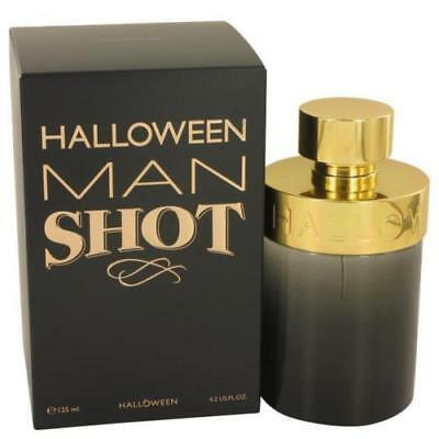 Halloween Man Shot Cologne  by J Del Pozo, 4.2 oz EDT Spray for Men NEW IN BOX](Halloween Man J Del Pozo)