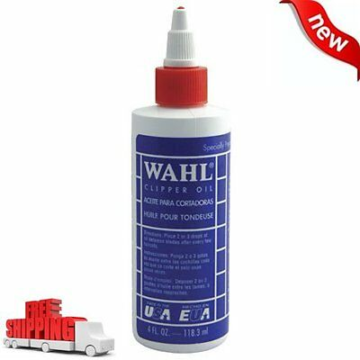 Wahl Professional Animal Blade Oil for Hair Clipper Trimmer Shaver Lubricant NEW