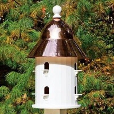 Good Directions Lazy Hill Farm Bell Bird House with Polished Copper Roof 43413 ()