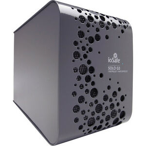 IoSafe SoloG3 3TB External Water/fireproof harddrive **NEW PRICE