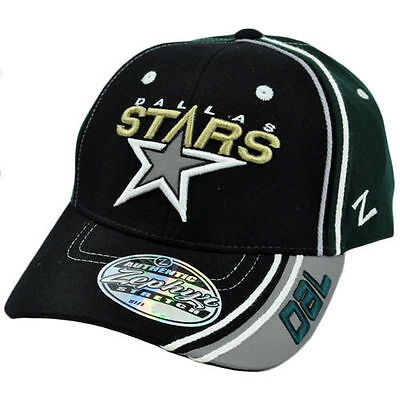 1  Zephyr® Vintage Dallas Stars Slash Stretch Fit Hat Cap Sz Medium/Large
