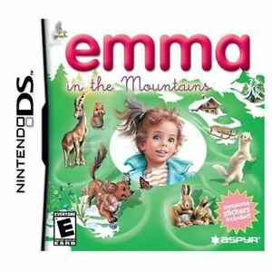 0-6 years old Emma in the Mountains Nintendo DS/Lite NEW!