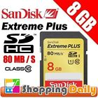 8GB SDHC UHS-I Mobile Phone Memory Cards