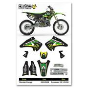 Kawasaki KX 125 Dirt Bike