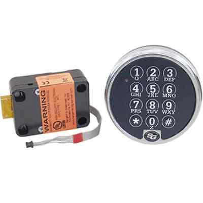 S&G 6120-305 ELECTRONIC DIGITAL SAFE LOCK IN CHROME