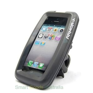 Original Waterproof Iphone 5 4 4s motorcycle bike bicycle mount stand handlebar