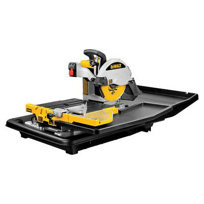 DEWALT 10-in. 69-lb. Wet Tile Saw with Integrated Rail System D24000 -