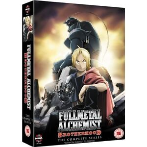 FULLMETAL ALCHEMIST BROTHERHOOD Complete Series Collection Eps 1 - 64 SEALED/NEW