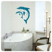 Wandtattoo Delphin