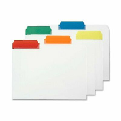 Smead 10530 Assortment Poly Color Coded File Folders - Letter - 8.50