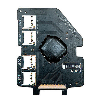 iFlash Quad MicroSD Adapter iPod 5G 6G 7G Video Classic Upto 4x Micro SD Cards Classic 5g Video
