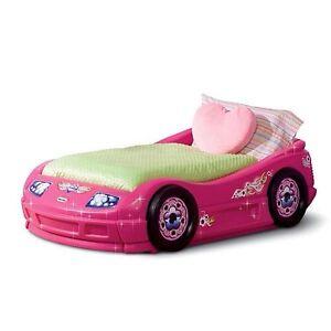 Little Tikes Pink Roadster Toddler Bed Furniture Girls ...