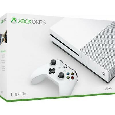Microsoft Xbox One S 1TB Console - White Xbox One S Console And Controller - AMD