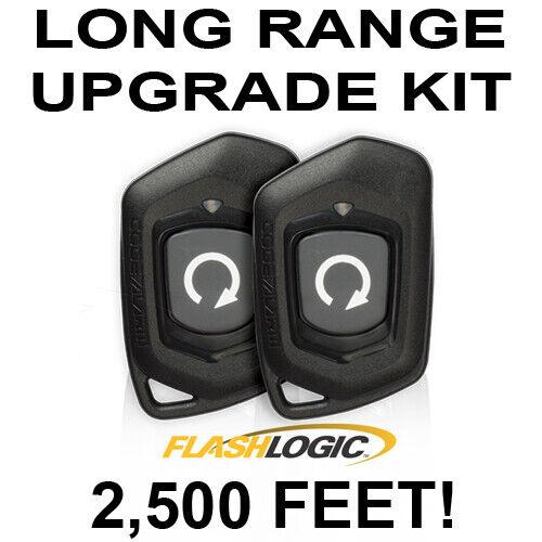 js alarms long range extended range level