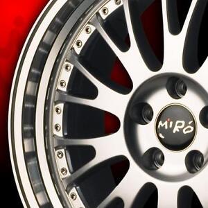 "$599 (Tax-In)- NEW Authentic 19""x9.5"" MIRO STP2 rims(5x100)- VW MK4 Jetta/ Golf / Subaru Impreza/ Legacy/ BRZ/ Scion FRS"