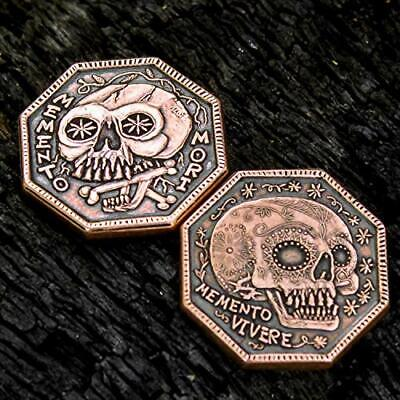 New And Cool, Coin Your Destiny Traditional Memento Mori Copper Reminder Coin