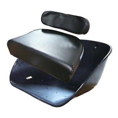 Seat Cushion Backrest Massey Ferguson Tractor 98 135 150 165 230 235 240 Black