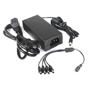 AC-100-240V-to-DC-12V-5A-Power-Supply-4-Split-Cable-for-CCTV-Security-Camera