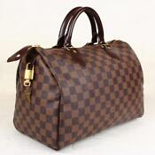 Authentic Louis Vuitton Damier Speedy