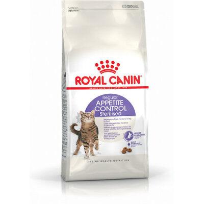 Royal Canin Feline Health Sterilised Appetite Control Complete Dry Cat Food 400g