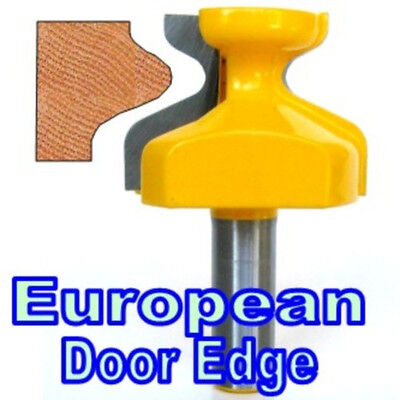1 pc 1/2 SH Door Edge Reversible European Finger  Pull Lip Router Bit GSA - Finger Pull Router