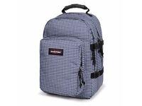 EASTPAK provider Backpack / rucksack gingham blue 33 l / 33 litre for laptop / ipad / apple mac