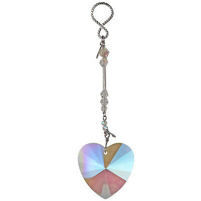 Kirks Folly Fairy Heart Wishing Crystal Ornament Great Va...