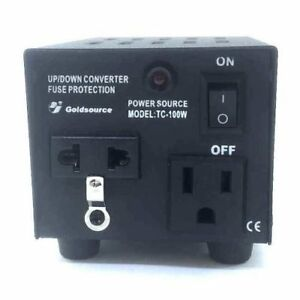 100 WATTS VOLTAGE TRANSFORMER 220-110V / 110-220 VOLTS