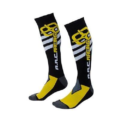 A R C  Mx Moto Socks Adult Size 10 13 Motorcross Atv Boots Arc Mx Dirt Bike
