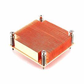 Akasa 1U solid Copper Passive Cooler for LGA 775 1156 1155 1150