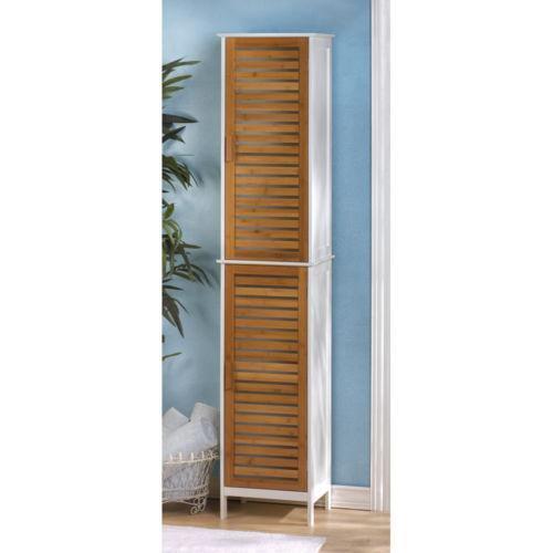 Bamboo Cabinet Ebay