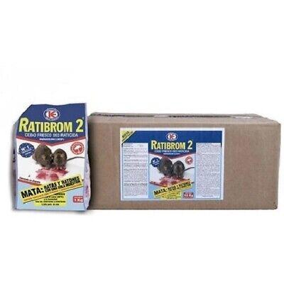 Bait Fresh Ratibrom 2 Against Rat And Mice - Box 10 KG (10 X 1 KG)
