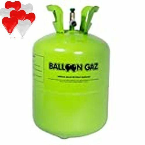 Helium Ballongas für 50 Luftballons Set Angebot + 30 Herz Luftballons gratis !!
