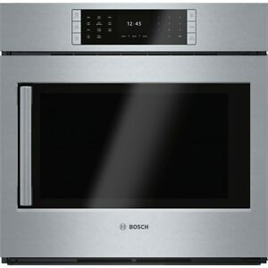 "30"" Bosch Oven + 30"" Bosch Speed Oven + 36+ Induction Cooktop Se"